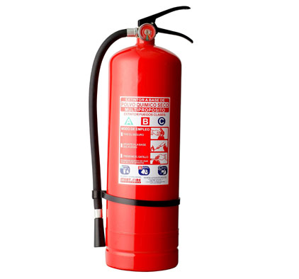 Extintor de 6kg PQS tipo ABC al 75%