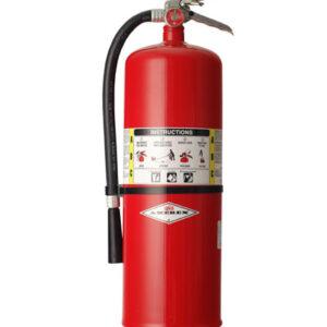 Extintor de 10lb UL PQS tipo ABC al 90%