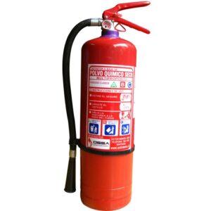 Extintor de 4kg PQS tipo ABC al 75%